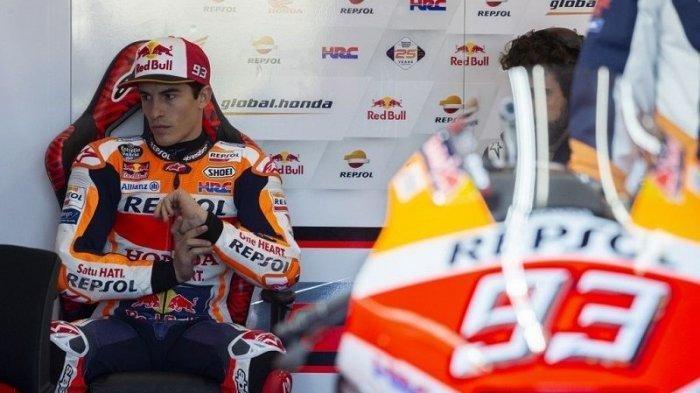 Jadwal MotoGP Prancis 2021, Marquez Merasa Lebih Natural di Lintasan Basah