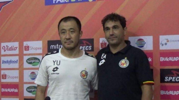 Hasil Liga 1 2019 Badak Lampung vs Semen Padang, Pelatih Eduardo Filipe Apresiasi Fernandinho dkk