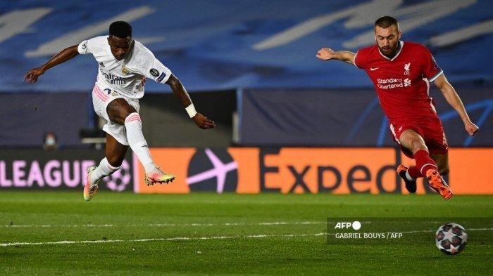 HASIL Liga Champions, Real Madrid Pecundangi Liverpool, Skor Akhir 3-1