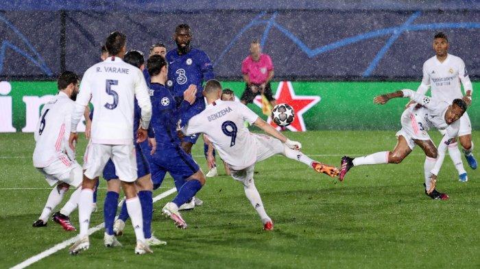 Hasil Liga Champions Real Madrid vs Chelsea, The Blues Masih Lebih Baik dari Los Blancos