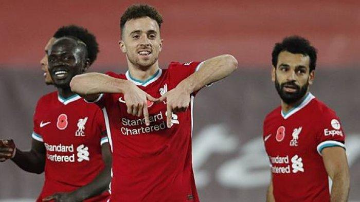 Ilustrasi. Hasil Liga Inggris Arsenal Vs Liverpool, Striker Liverpool, Diogo Jota memberikan kejutan tak lama setelah keluar dari bangku Pemain cadangan.