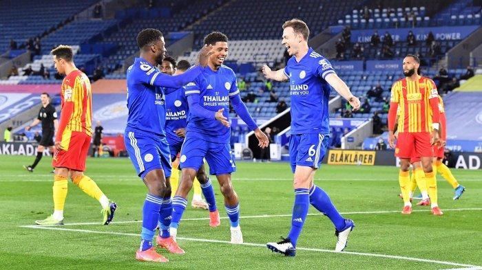 Hasil Liga Inggris Leicester vs West Brom, Jamie Vardy Tampil Impresif Bawa The Foxes Unggul dan mantan di Posisi Ketiga Klasemen