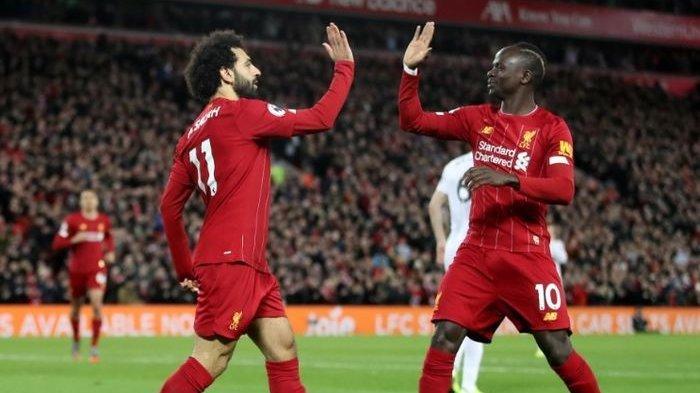 Hasil Akhir Liga Inggris Liverpool vs Manchester United - The Reds Makin Kokoh di Puncak