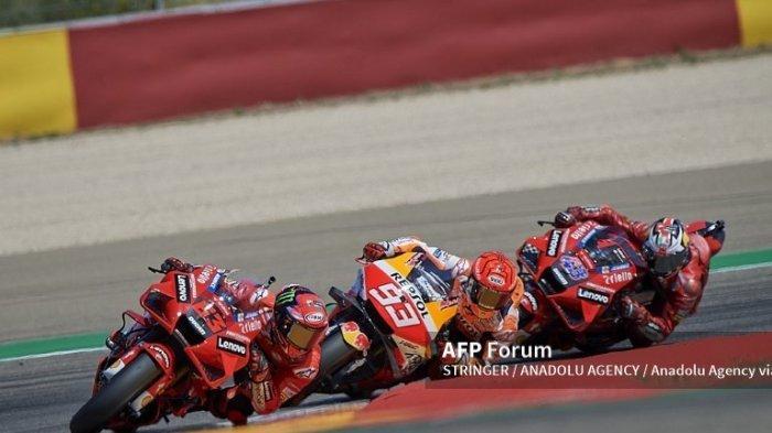 Hasil MotoGP 2021 Aragon, Quartararo Tercecer, Bagnaia Jadi Juara