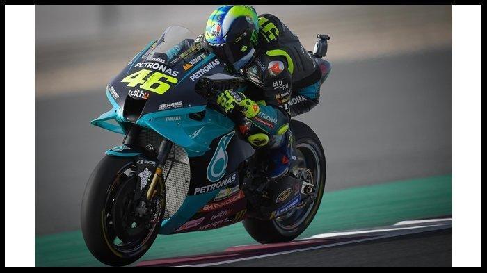 HASIL MotoGP Doha 2021, Valentino Rossi Kembali Tak Tembus 10 Besar