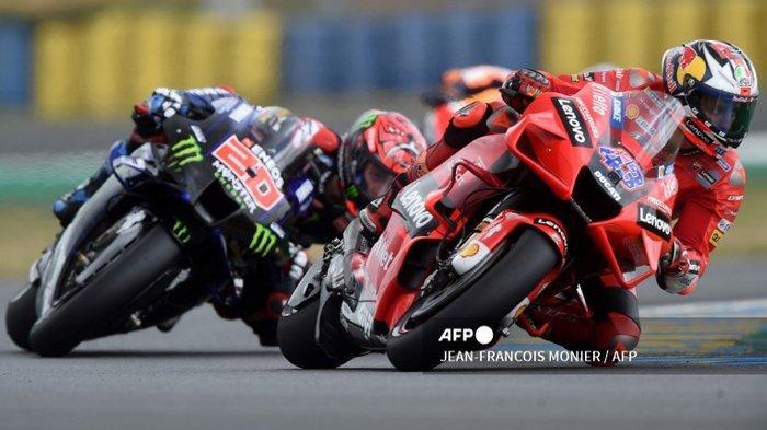 HASIL MotoGP Prancis 2021, Jack Miller Podium 1, Marc Marquez Jatuh 2 Kali