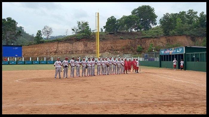 HASIL Softball Putra PON XX Papua 2021, Lampung Gulung Papua Barat 9-0