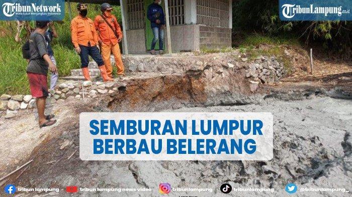 Semburan Lumpur Berbau Belerang di Cirebon Hebohkan Warga