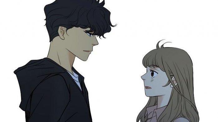 Spoiler Webtoon Hello Mr Blue Episode 17, Adegan Romantis Aureum Lee dan Dawoon Lee