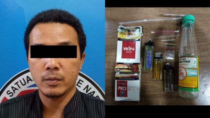 Belum Sempat Konsumsi Sabu, Warga Bandarjaya Keburu Diciduk Polres Lampung Tengah