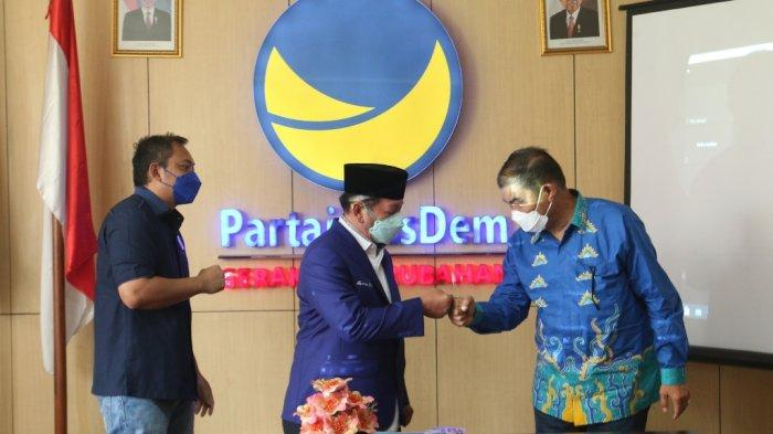 Herman HN Gabung ke NasDem Lampung, Begini Tanggapan PDIP