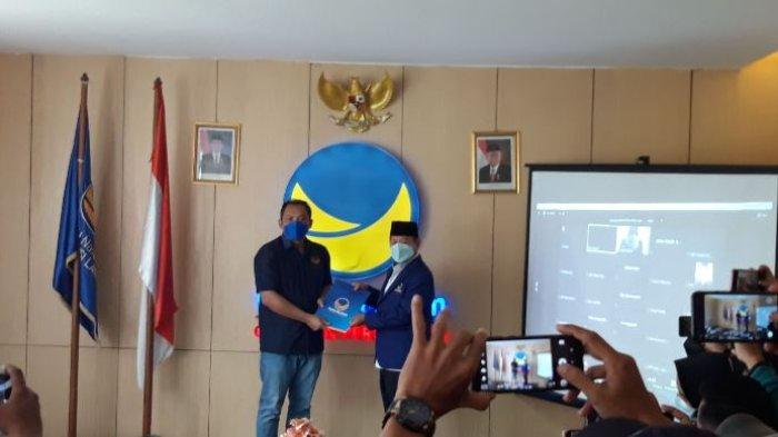 Herman HN Resmi Nahkodai DPW NasDem Lampung Gantikan Taufik Basari