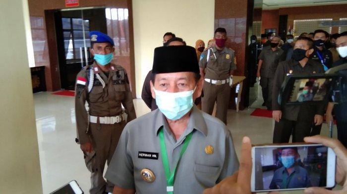 HUT ke-338 Bandar Lampung, Herman HN Ajak Setiap Elemen Gotong Royong Lawan Persebaran Covid-19