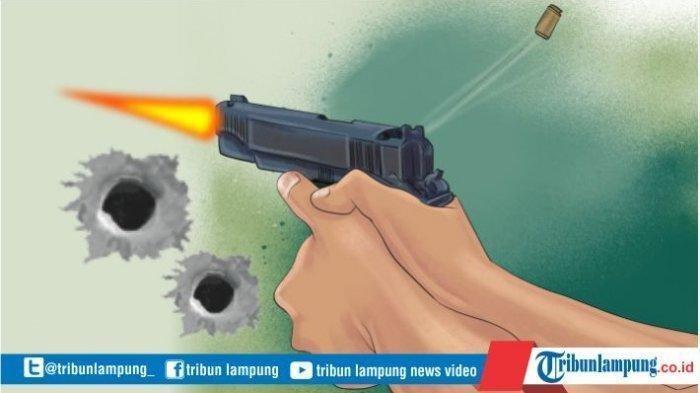 Hernadi Berondong Istri dengan Tembakan di Pekarangan Rumah, Warga Dengar 3 Kali Suara Letusan
