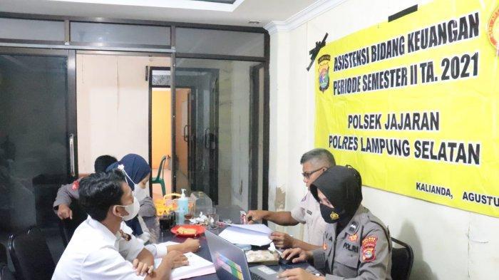 Hindari Penyelewengan, Polres Lampung Selatan Asistensi Keuangan di Seluruh Mapolsek