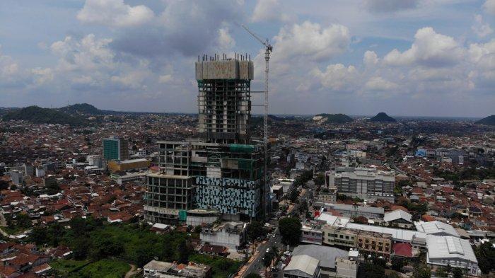 Hotel Tertinggi di Sumatera 36 Lantai, Sisa 8 Lantai, Deretan Gedung Pencakar Langit di Lampung