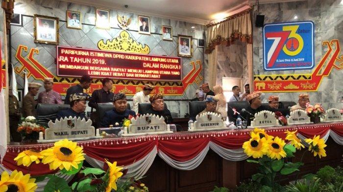 Agung Mangkunegara: HUT ke-73 Lampung Utara Jadi Momentum Pembangunan