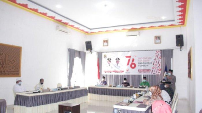 HUT Ke 76 RI, Pemkot Metro Lampung Doa Bersama di Rumdis Wali Kota