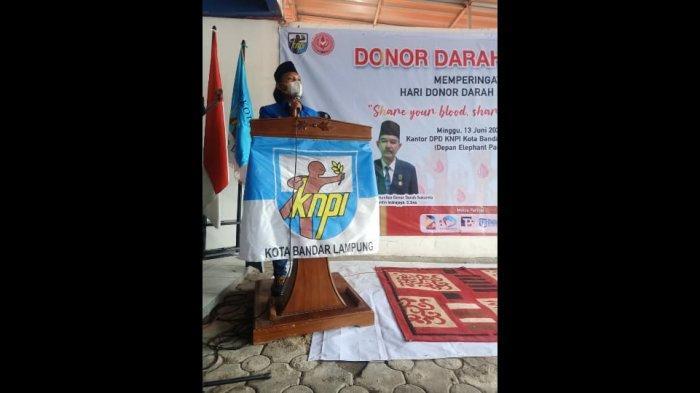 KNPI Bandar Lampung Gelar Rangkaian Acara dalam Rangka HUT Ke-47 KNPI