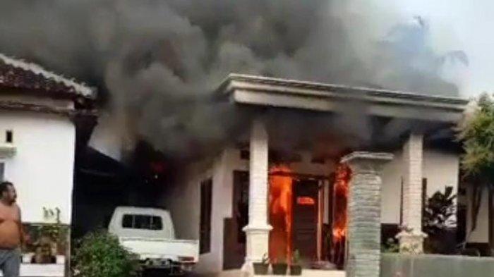 Ibu Empat Anak Nekat Terobos Kebakaran Rumah Pesawaran Lampung Demi Adik dan Ponakan