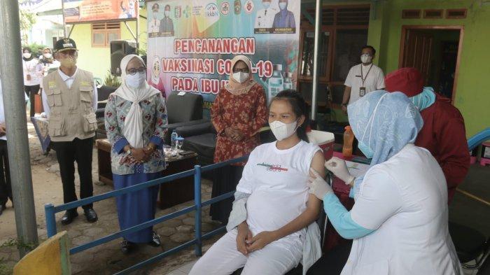 Ibu Hamil di Pringsewu  Lampung Mulai Divaksin Covid-19