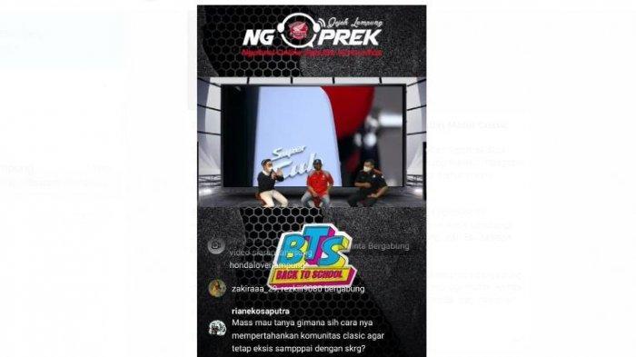Tunas Honda Lampung Gelar Ngoprek Bareng Komunitas Motor Classic