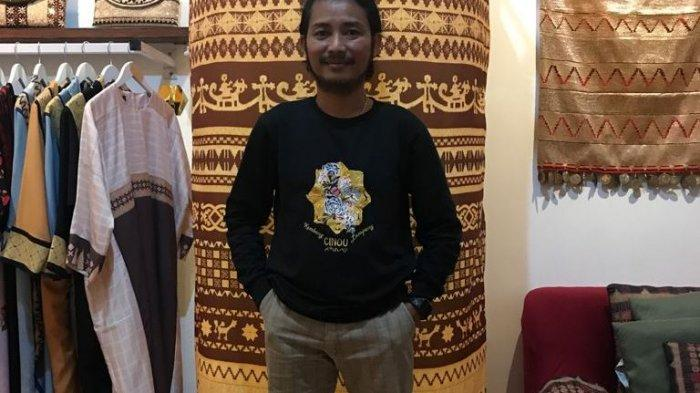 Nuwa Ical Art Bandar Lampung Tawarkan Produk Tapis Mulai dari Rp 50 Ribu
