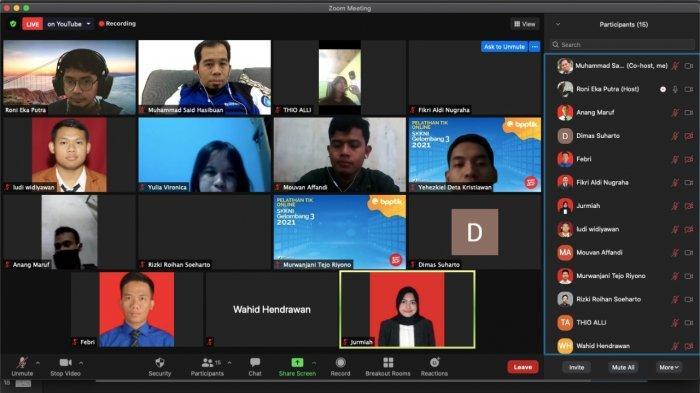 Dosen IIB Darmajaya Jadi Pengajar Peserta Pelatihan Online TIK Berbasis SKKNI BPPTIK Kemenkominfo