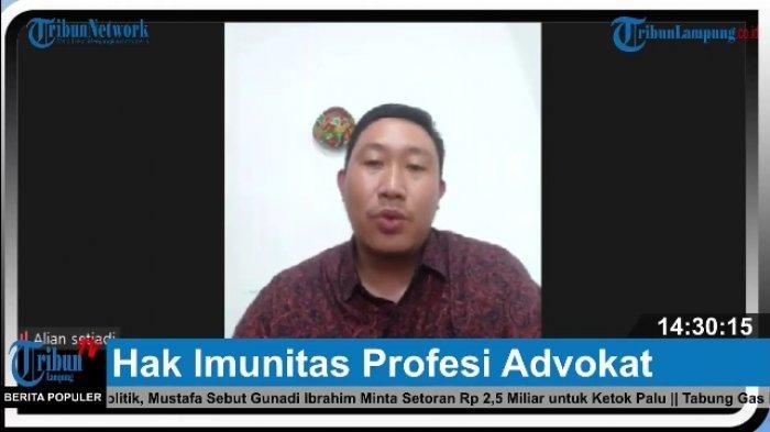 IKADIN Lampung: Advokat Wajib Jalankan Profesinya Secara Benar