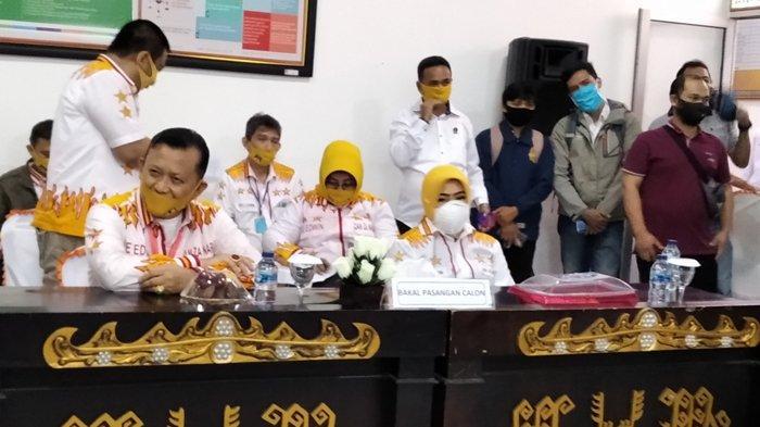 Pleno KPU Kota Bandar Lampung Akan Tentukan Nasib Ike Edwin-Zam Zanariah