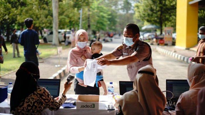 Unila Gelar Vaksinasi Covid Batch 7 Dosis Pertama