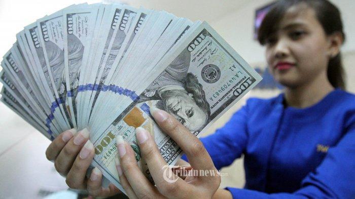 Nilai Tukar Rupiah terhadap Dolar AS, 17 September 2020