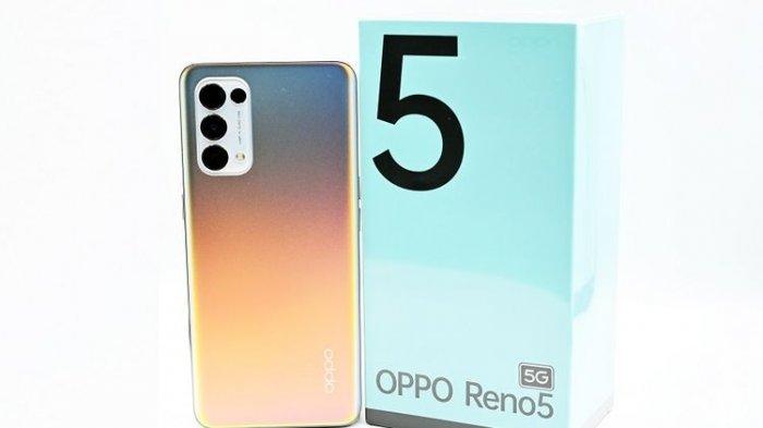 Ilustrasi. harga HP Oppo Reno5 5G dengan konfigurasi RAM 8 GB