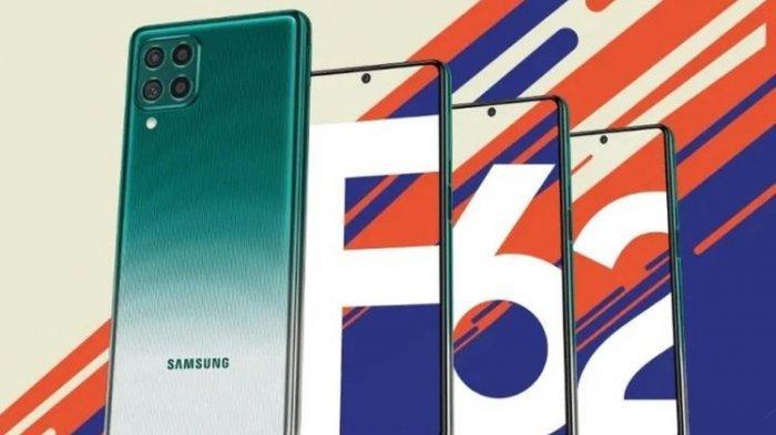 Harga HP Samsung Galaxy F62 dengan Kapasitas Baterai 7000 mAh Mulai harga Rp 4 Jutaan