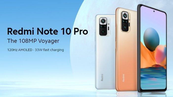 Resmi Meluncur di Indonesia, Xiaomi Redmi Note 10 Pro Dibanderol Harga Rp 3 Jutaan