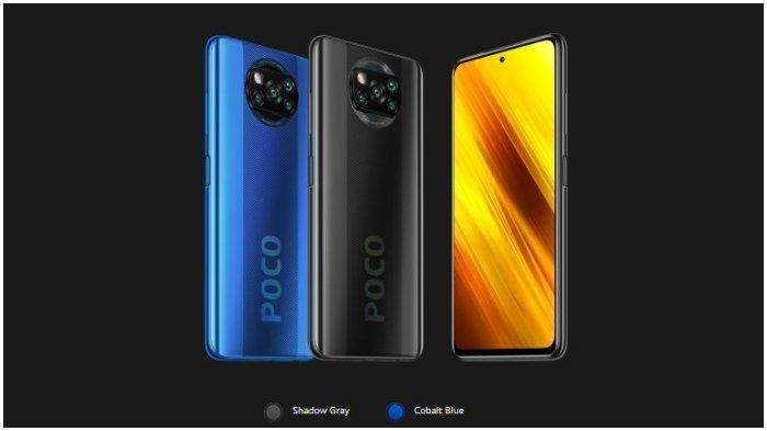 Harga HP Xiomi Poco X3 Dibanderol Harga Rp 4 Jutaan dengan Resolusi Full HP Plus, Simak Kelebihannya