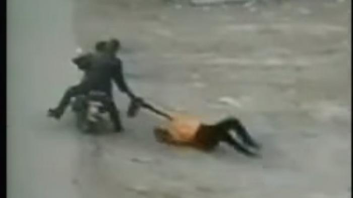 2 Bocah Histeris Lihat Ibunya Jadi Korban Jambret, Tergeletak di Jalan dan Tewas