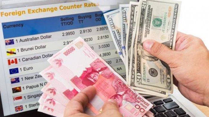 Masih Melemah, Nilai Tukar Rupiah Terhadap Dollar AS Rabu, 15 Juli 2020, di Level Rp 14.455