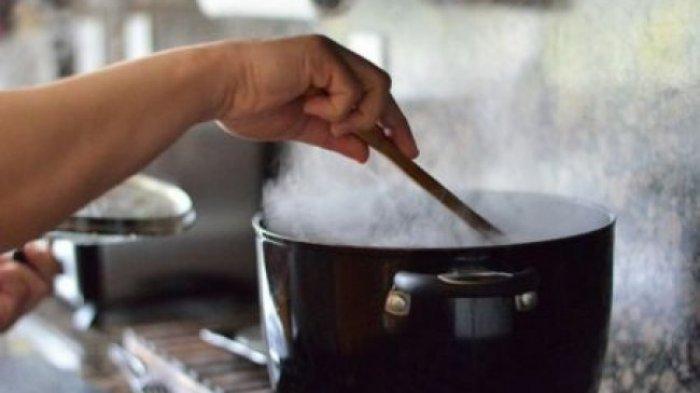 Ilustrasi memasak untuk berita istri meracuni suami