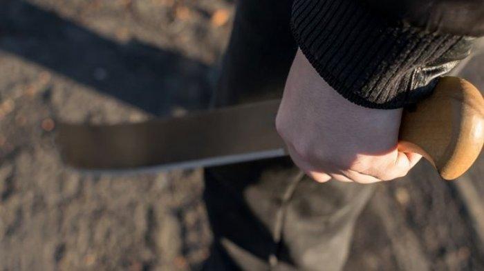 Pria Ini Bunuh Istri Secara Sadis, Warga Lari Berhamburan Lihat Pelaku