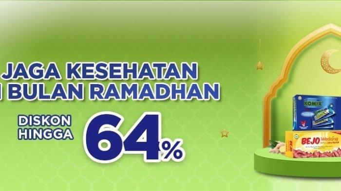 Promo Tokopedia Spesial Ramadan, Produk Kesehatan Diskon hingga 64%