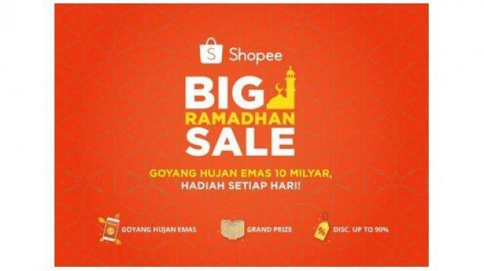 Shopee Big Sale Ramadan Diskon hingga 64%, Lihat Promo Produk Makanan Ringan