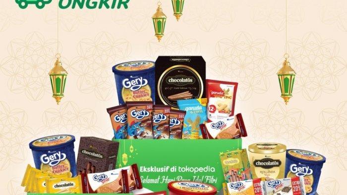 Ilustrasi. promo Tokopedia WIB Ramadan untuk produk makanan ringan