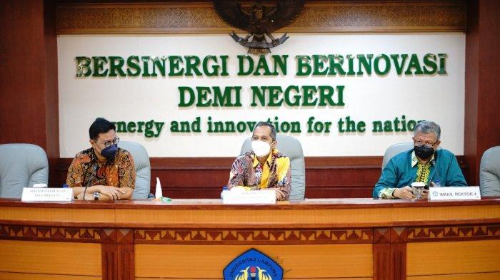 Unila dan PT Indonesia Asahan Aluminium Tanda Tangani MoU