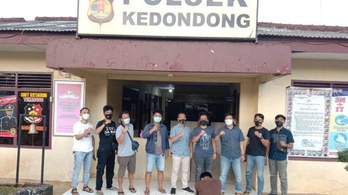 Incar Pencuri, Polisi Malah Gerebek Pesta Sabu di Pesawaran