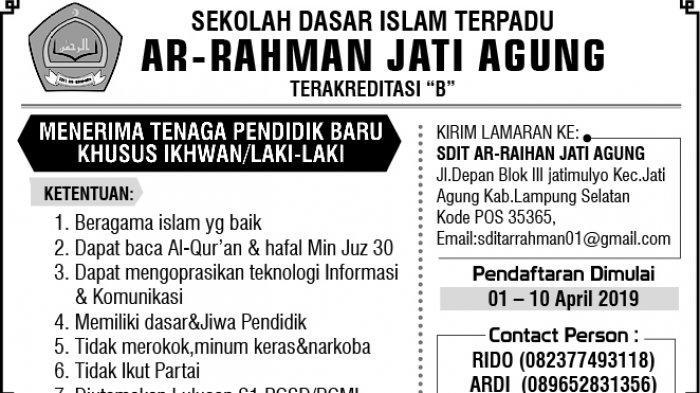 Info Lowongan Kerja di Sejumlah Perusahaan di Lampung, Siapkan Diri Anda