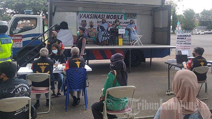 Instruksi Kapolda Lampung ke Polres, Siapkan 3 Mobil untuk Vaksinasi Covid-19 Keliling