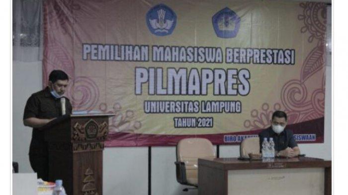 11 Mahasiswa Universitas Lampung Ikuti Pilmapres 2021