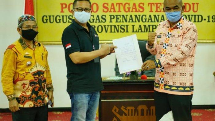 IPC Panjang Salurkan Alat Kesehatan Kepada Pemerintah Provinsi Lampung
