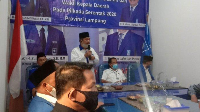 7 DPD PAN di Lampung Akan Gelar Musda Pemilihan Ketua DPD